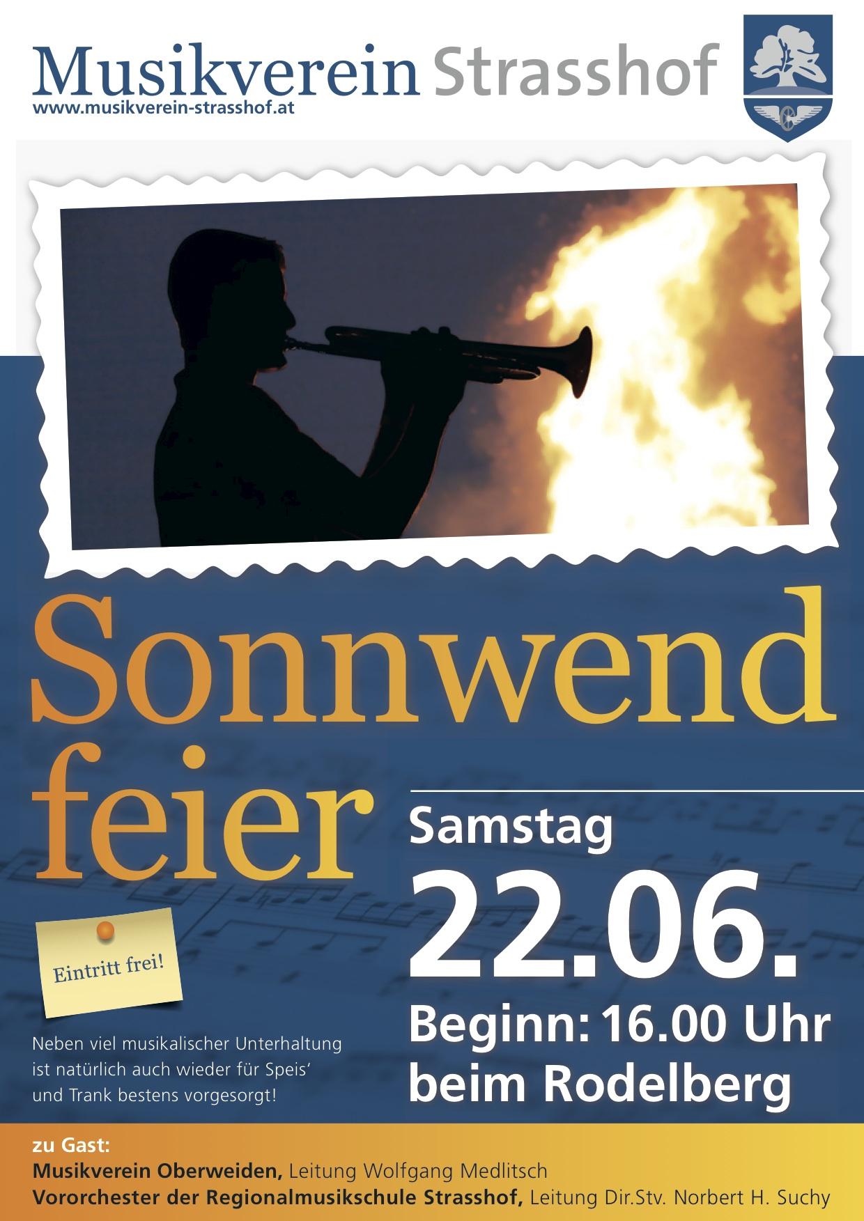 Sonnwendfeier Plakat